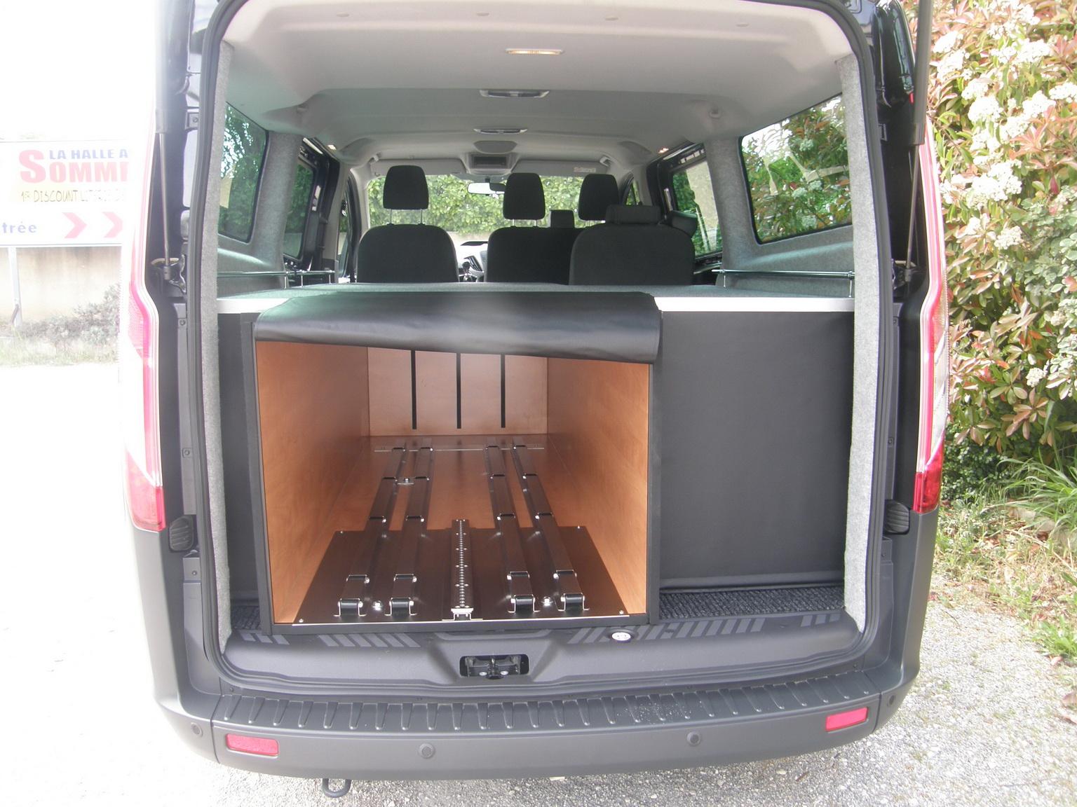 corbillard caisson après mise en bière
