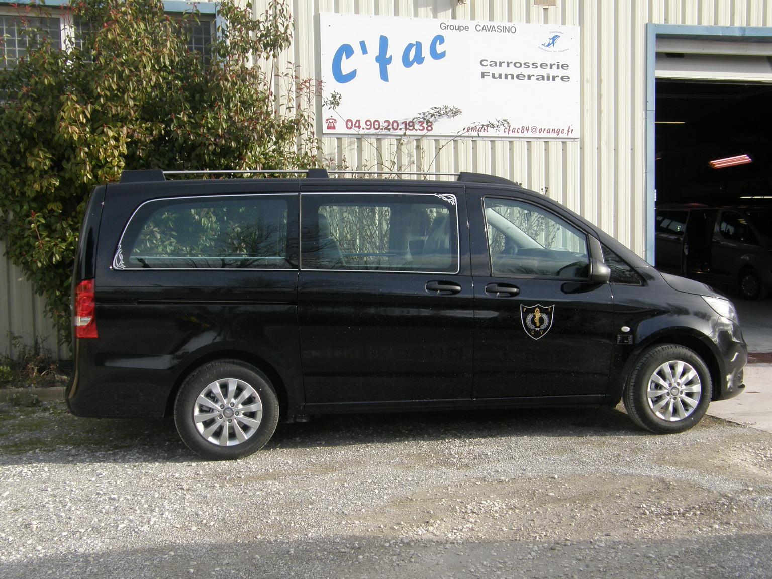 vehicule funeraire vito