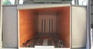 aménagement véhicule funéraire